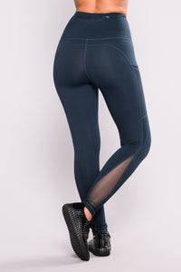 Cristina Active Leggings - Dark Teal