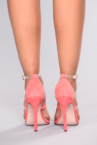 Mini Peak Peak Heel - Blush