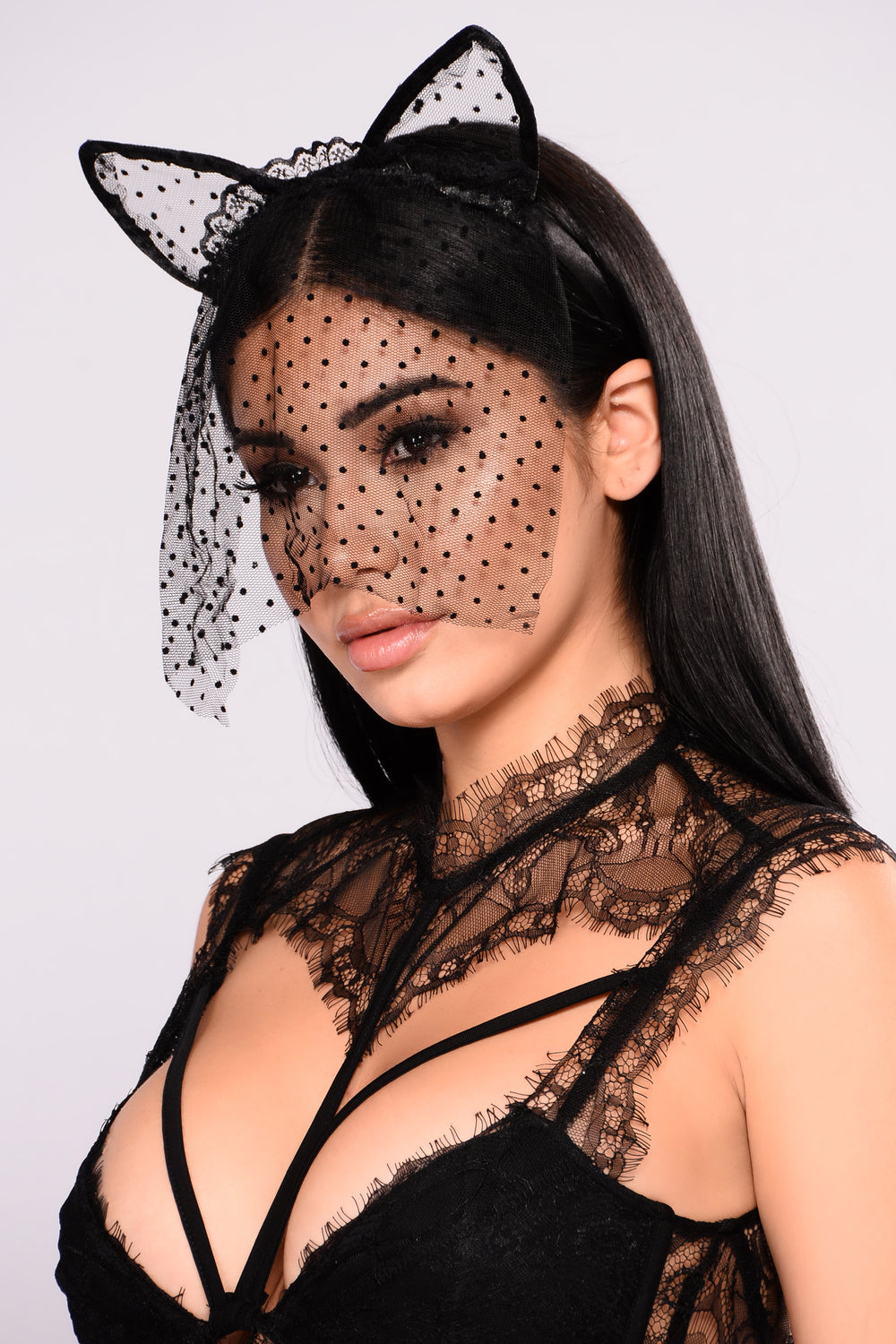 Unveiled Cat Ears - Black
