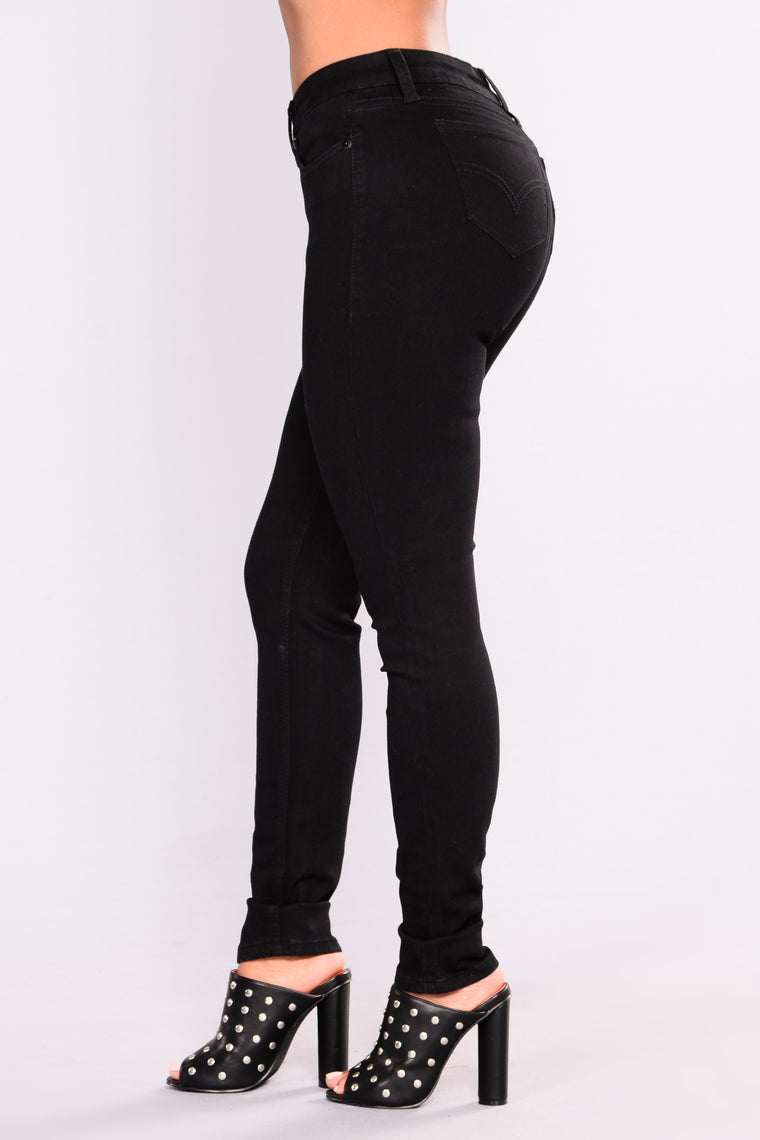 Nightfall Skinny Jeans - Black