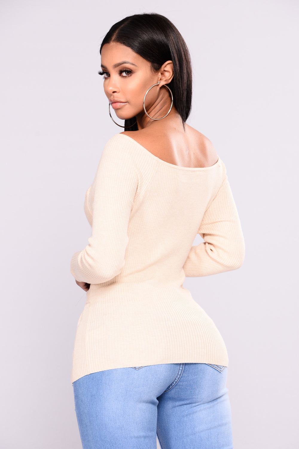 Elle Sweater - Ivory
