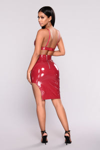 Stand Your Ground Latex Set - Wine