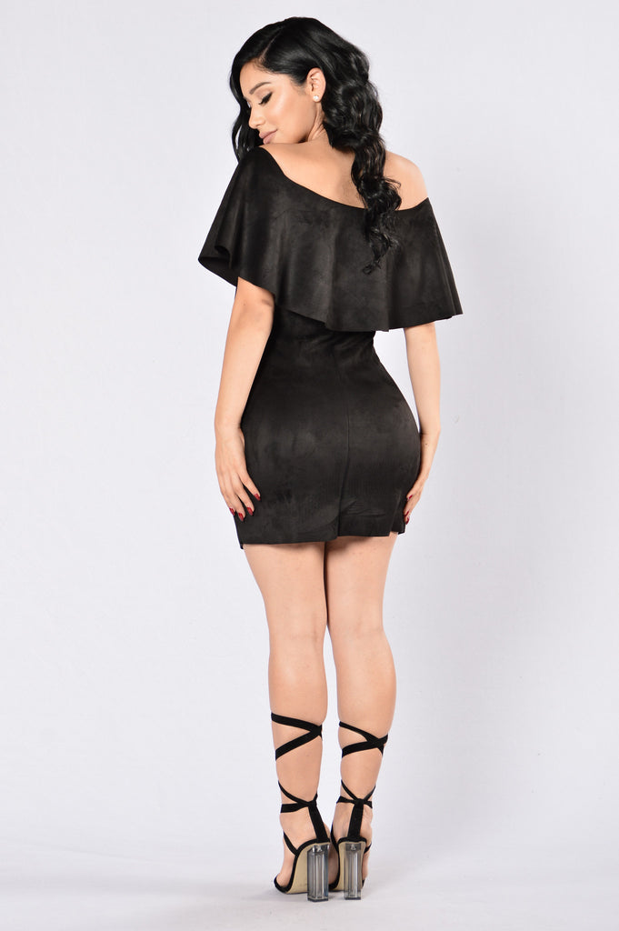 Open Your Eyes Dress - Black
