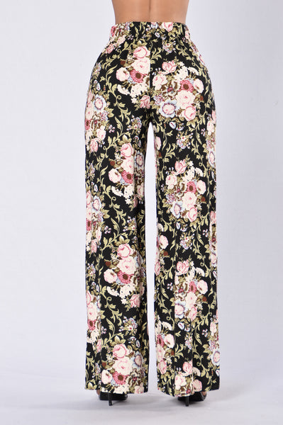 Island Girl Pants - Vintage Flower