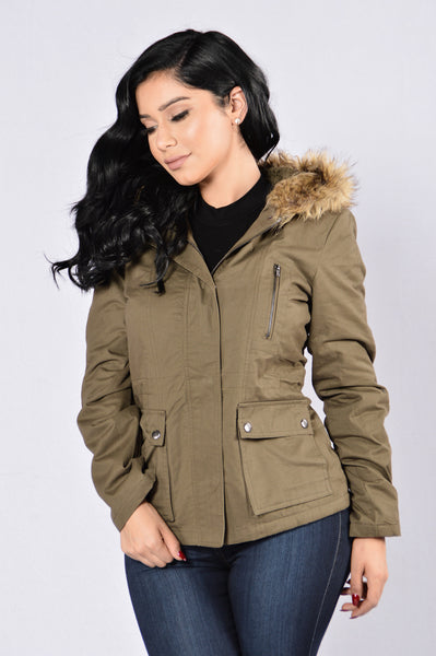 Save The Day Jacket - Olive