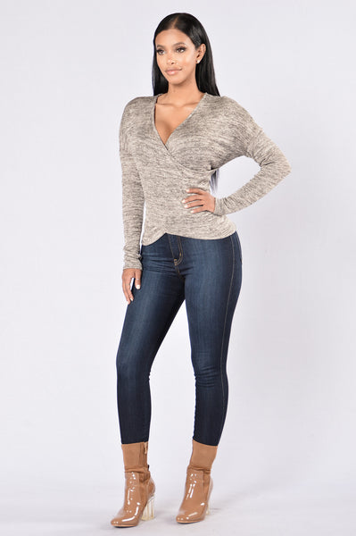 Fall Festival Top - Grey