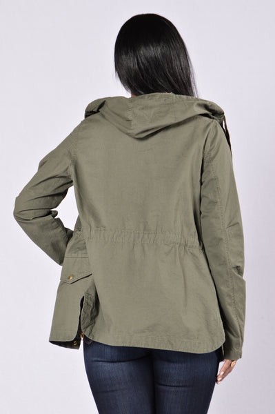 Battle Royale Jacket - Olive
