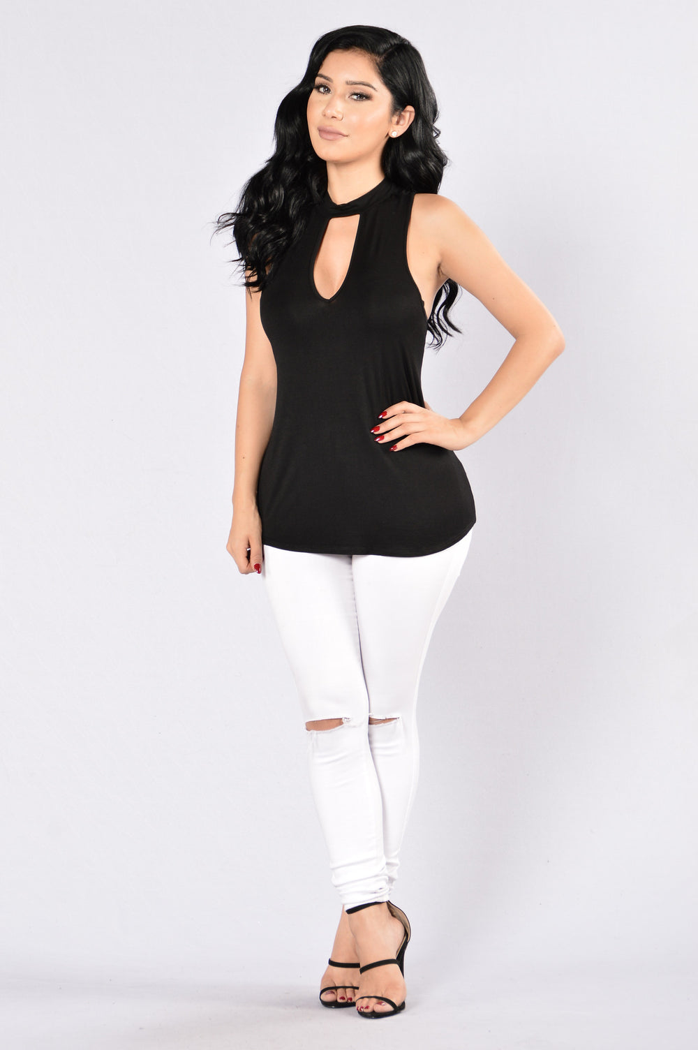 Trisha Top - Black