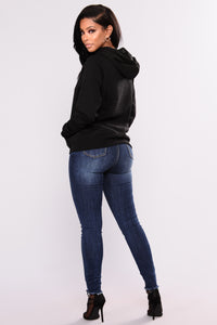 Keep It Simple Hoodie - Black
