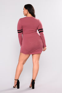 Your Goals Tunic - Mauve