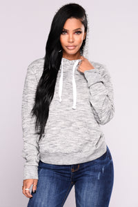 Keep It Simple Hoodie - Grey