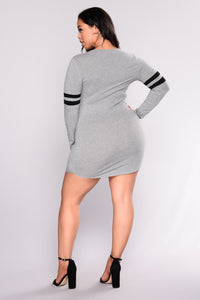 Your Goals Tunic - Grey