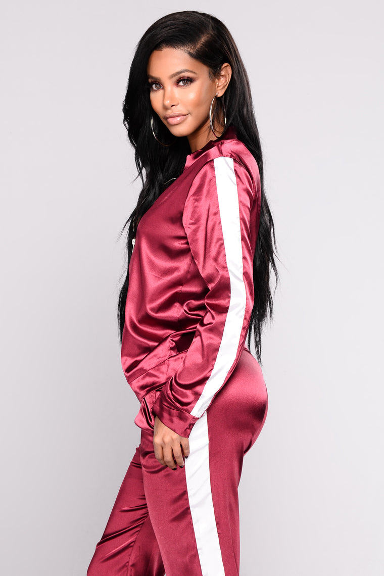 Nena Lounge Set - Burgundy