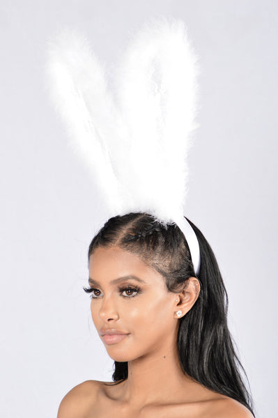 Bunny Queen Headband - White