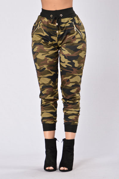 Hide Your Heart Jogger - Camo