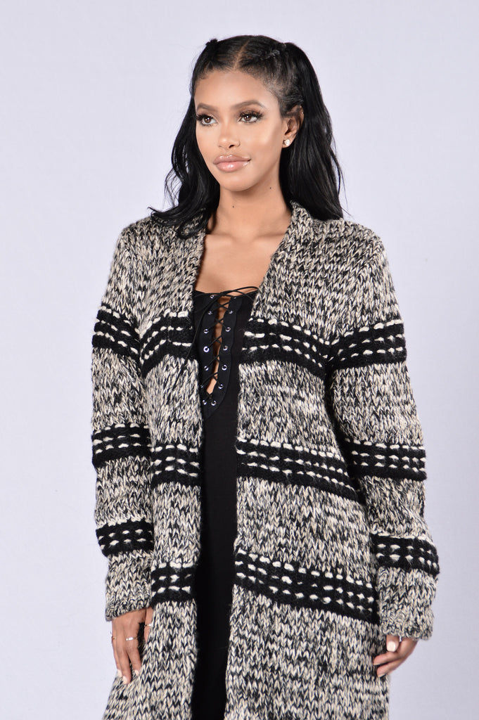 Anaya Sweater - Charcoal
