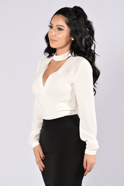 That's a Wrap Top - Ivory