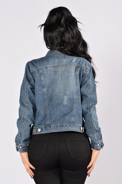 Coming Home Jacket - Dark Wash