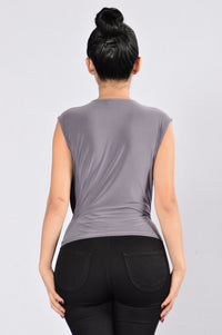 Faithful Top - Grey