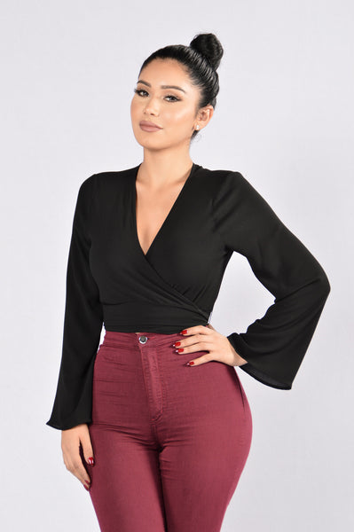 Get Busy Top - Black