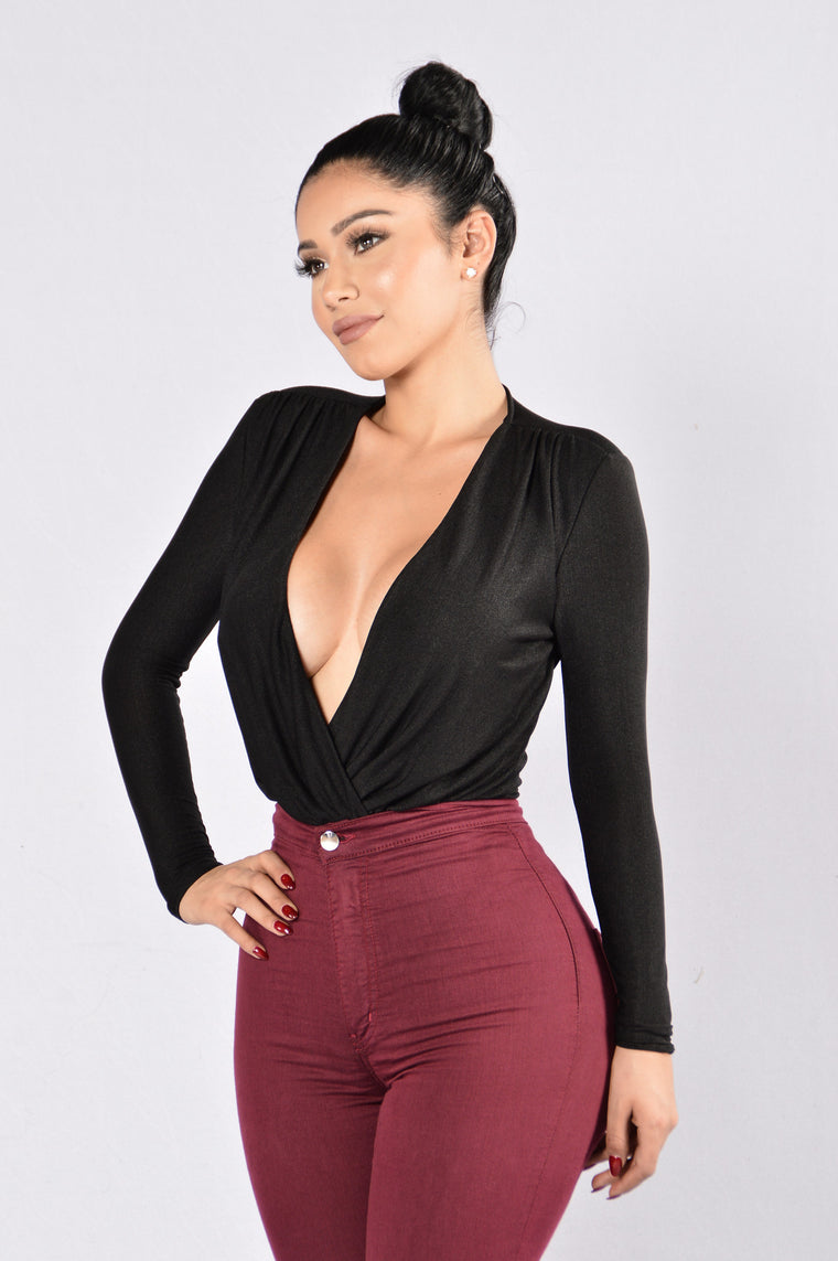 Work For It Bodysuit - Black