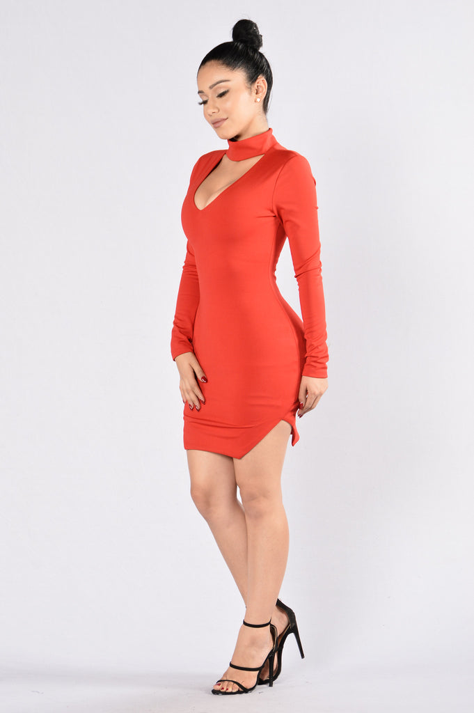 Catch And Release Dress - Red