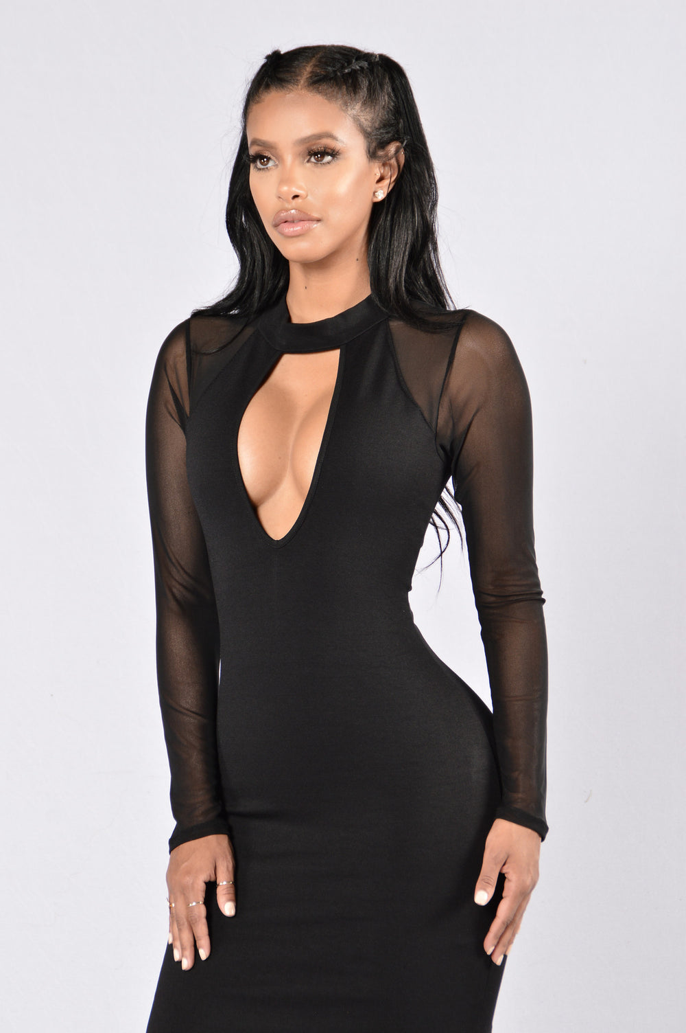 Stay Out Late Dress - Black