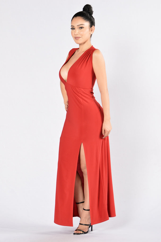 Dedicated To You Dress - Red