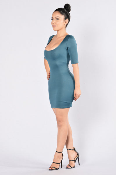 Easy Target Dress - Teal
