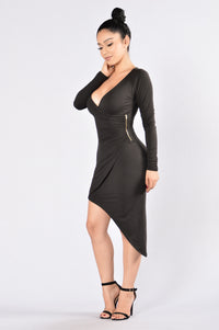 Whirlwind Romance Dress - Black