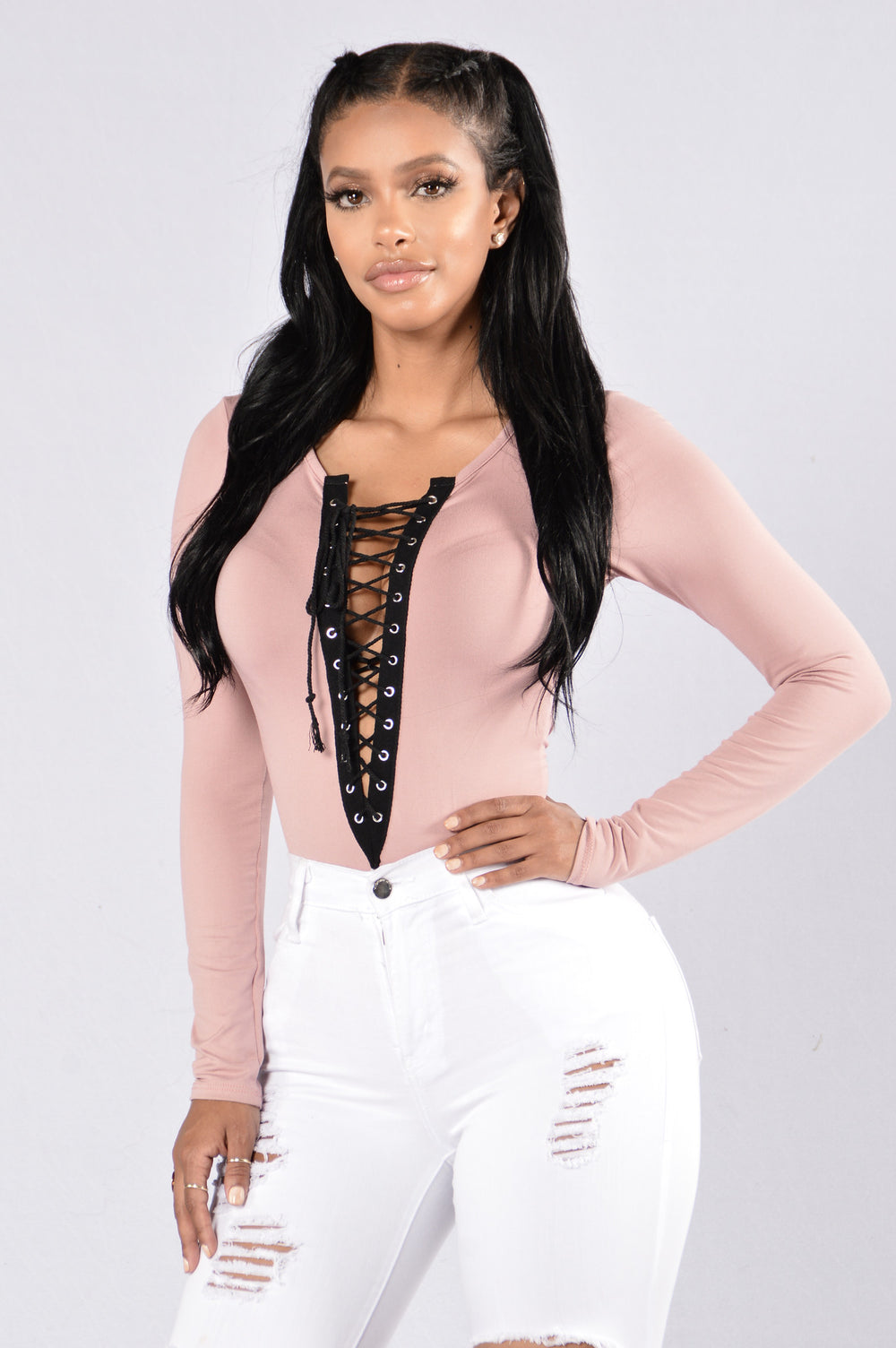 Playhouse Bodysuit - Blush