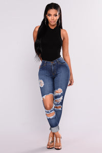 Aniyah Bodysuit - Black