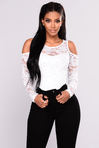 Tay Lace Top - White
