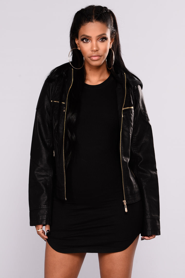 In My Hood Jacket - Black