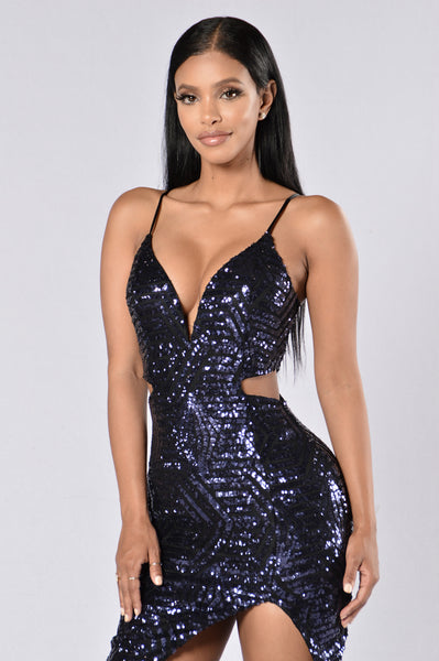 Star Gazing Dress - Midnight