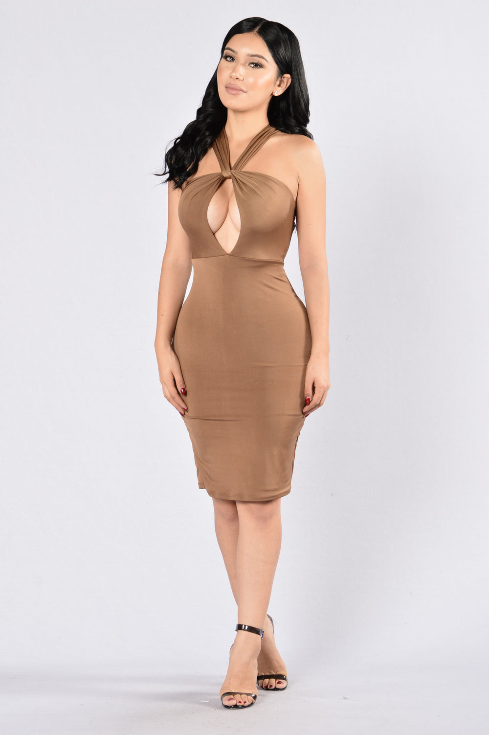 Knot Listening Dress - Copper