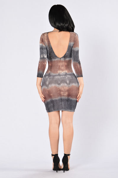 Space Jam Dress - Grey