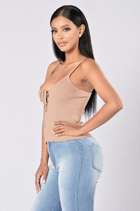 American Beauty Top - Taupe