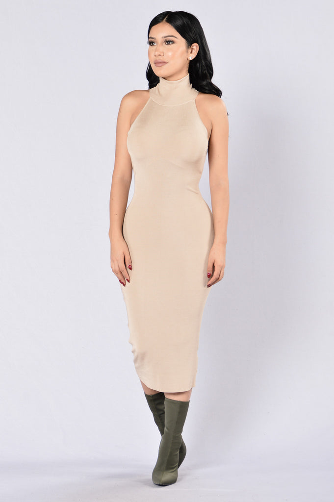 So Amazin' Dress - Taupe