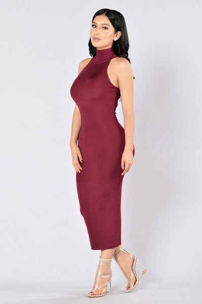So Amazin' Dress - Burgundy