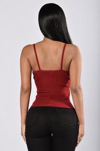 American Beauty Top - Burgundy