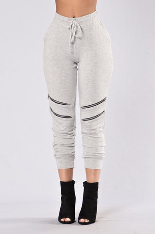 All For One Jogger - Heather Grey