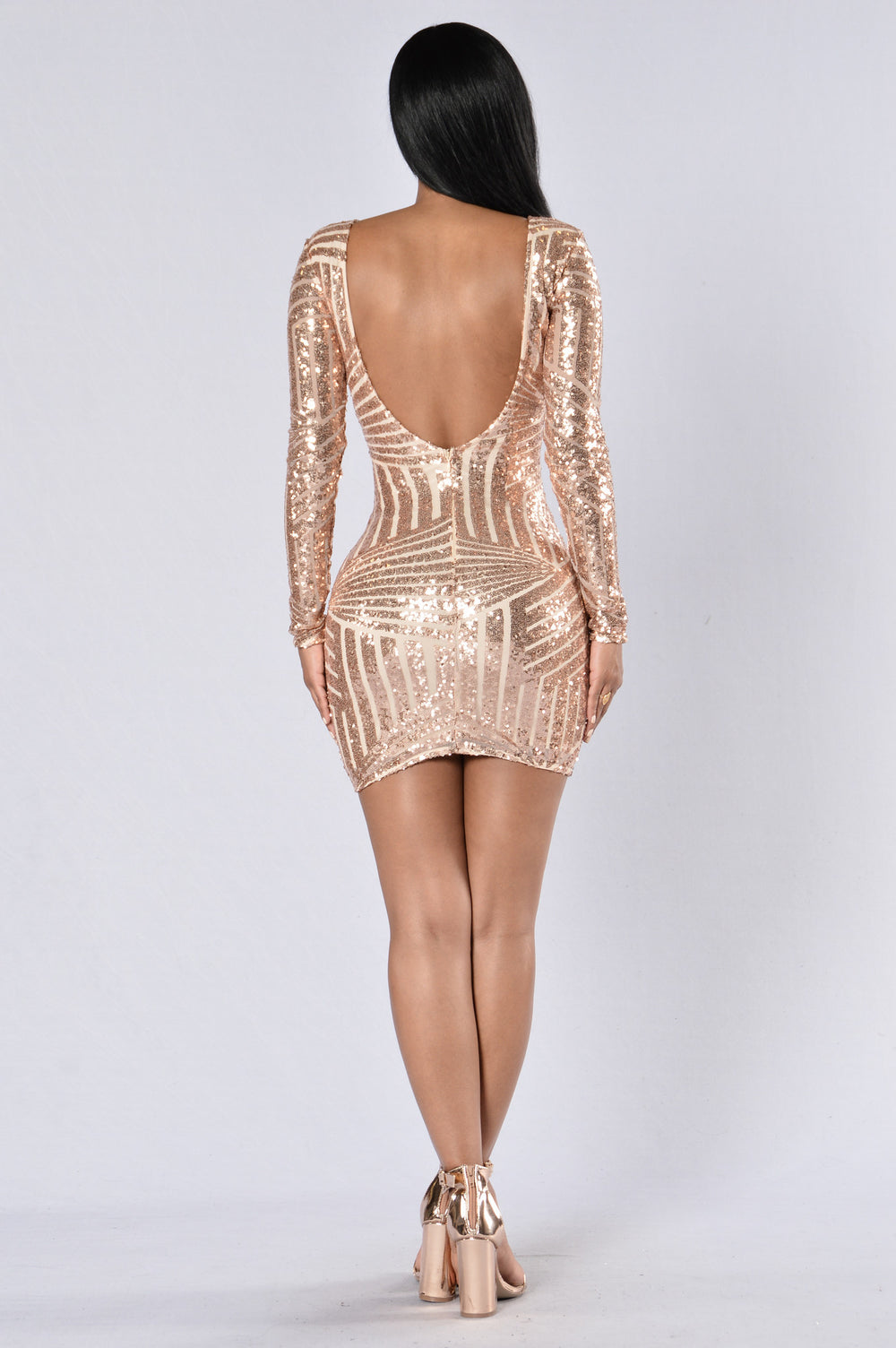 Make Your Mind Up Dress - Rose/Nude