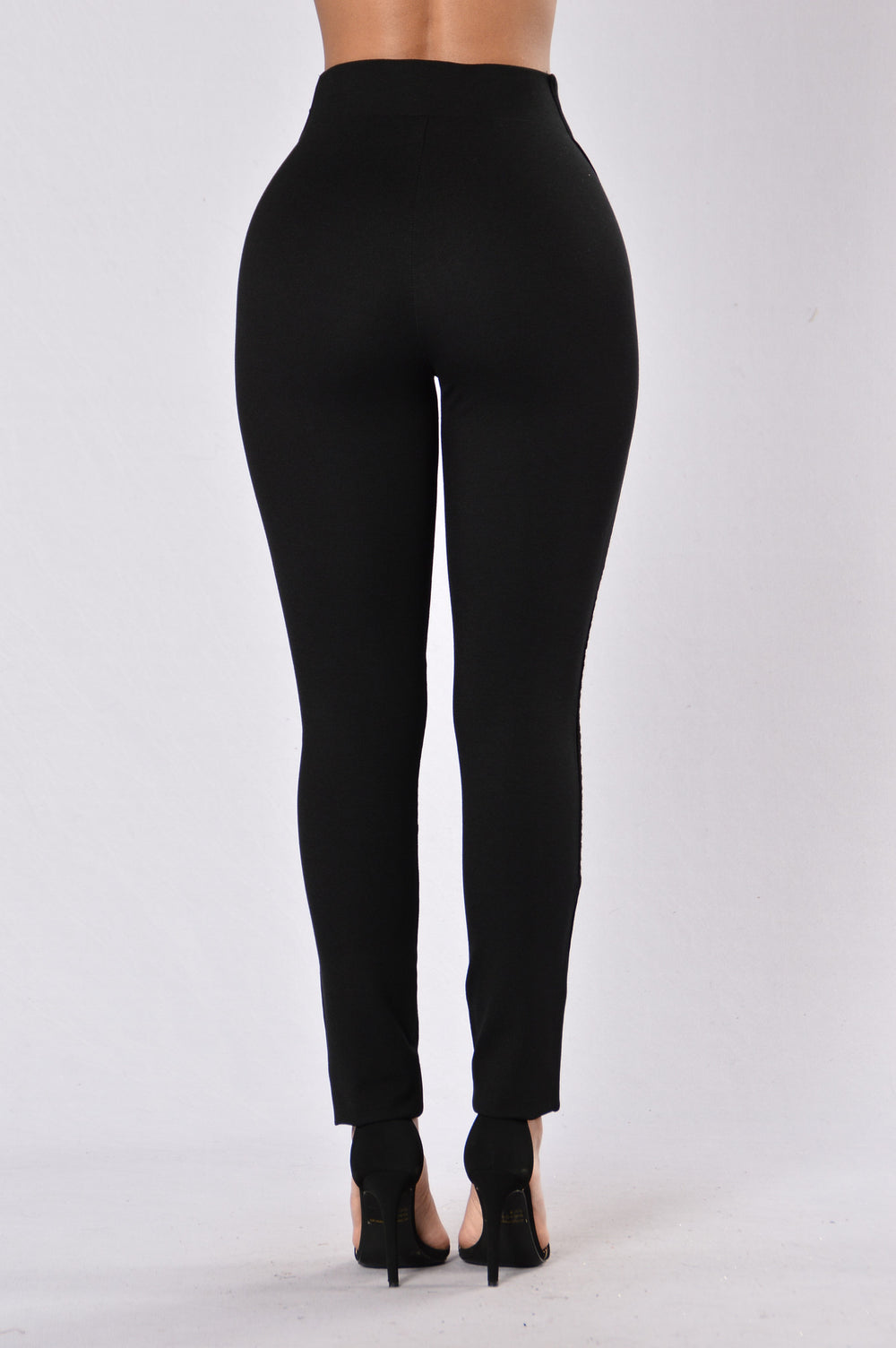 Loungin Ponte Pants - Black