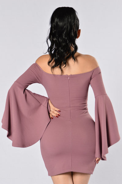 Give Me All Your Love Dress - Mauve
