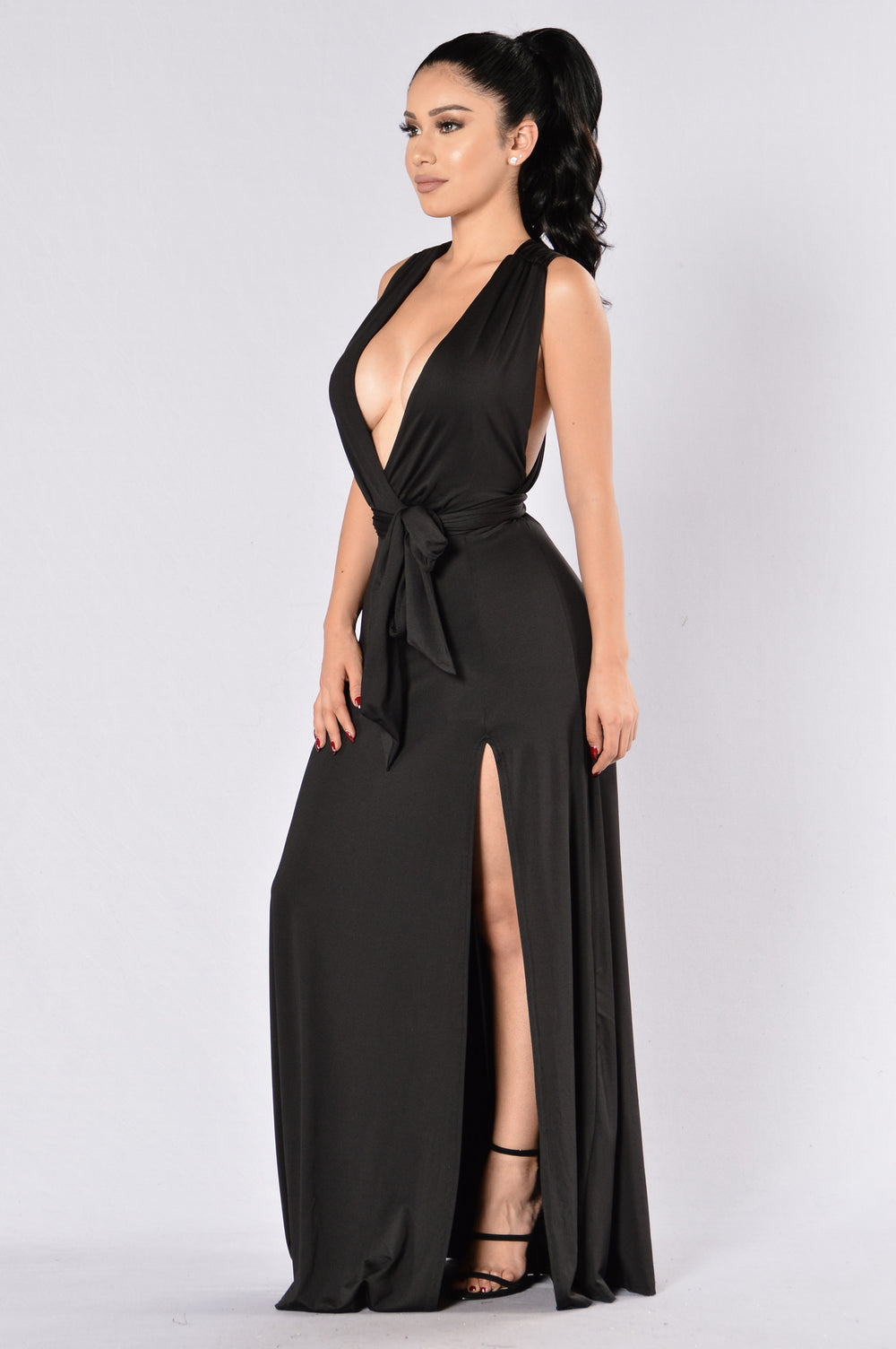 Divine Sorrow Dress - Black