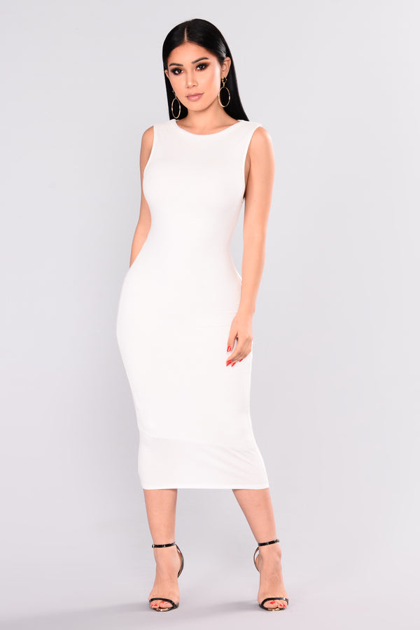 b7773f0390d0 Kimmy Dress - Off White