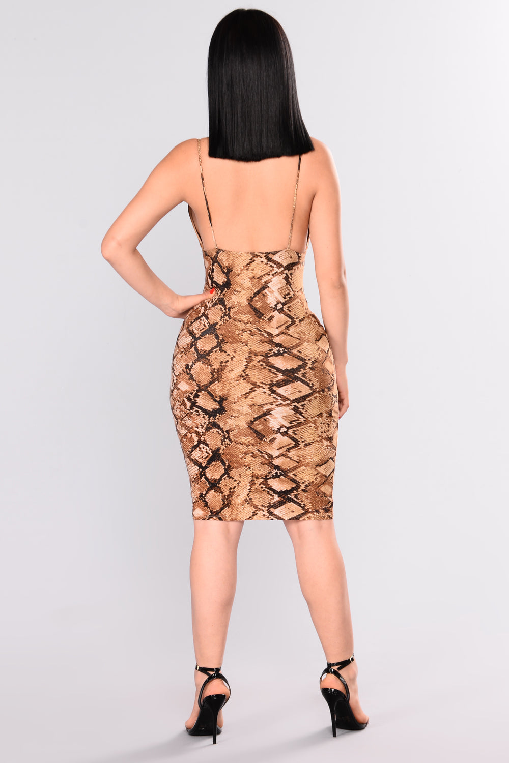 Serpent Situation Dress - Snake