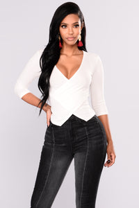 Cibelle Ribbed Top - Ivory
