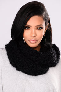 Fall Forward Scarf - Black